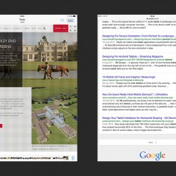 ipad screen comparison of font sizes
